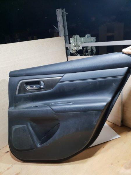 Обшивка двери Nissan Teana L33 2.5 173 Л.С 2015 задняя правая (б/у)