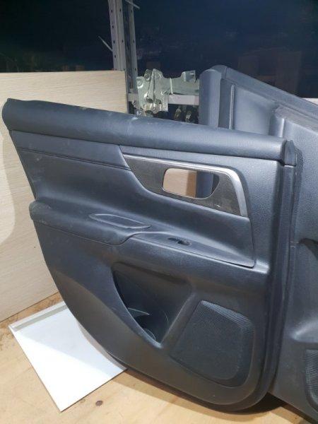 Обшивка двери Nissan Teana L33 2.5 173 Л.С 2015 задняя левая (б/у)