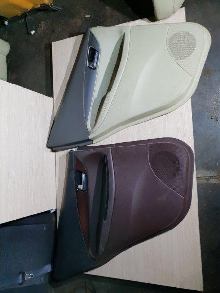 Обшивка двери Infiniti Ex 50 3.5 315 Л.С 2008 задняя левая (б/у)