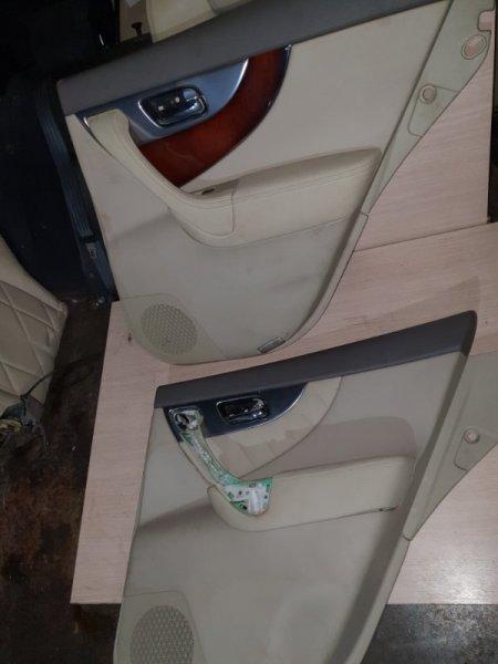 Обшивка двери Infiniti Fx S51 3.7 333 Л.С 2012 задняя правая (б/у)