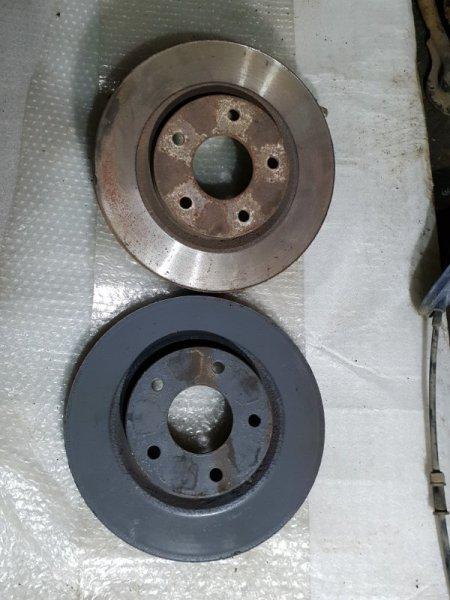Диск тормозной Nissan Juke I 1.6 Л / 117 Л.С. 2012 передний (б/у)