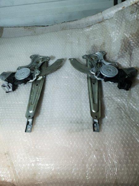 Стеклоподъемник Nissan Juke I 1.6 Л / 117 Л.С. 2012 задний (б/у)