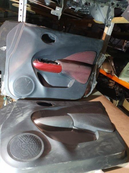 Обшивка двери Nissan Juke I 1.6 Л / 117 Л.С. 2012 передняя правая (б/у)