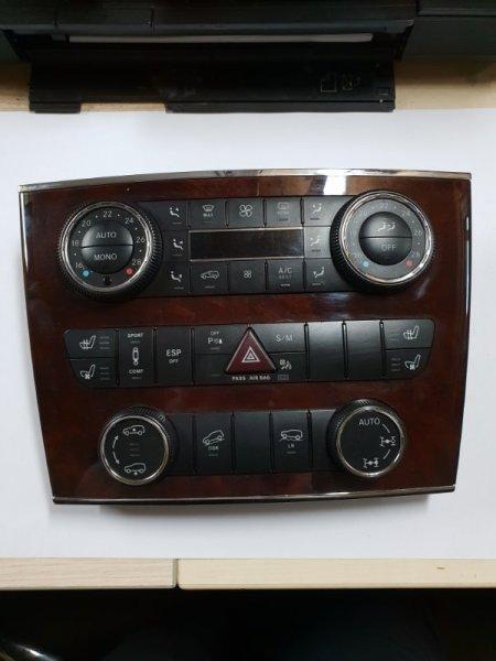 Блок управления климат-контролем Mercedes-Benz Gl-Klasse I X164 5.5 Л. 388 Л. С 2008 (б/у)
