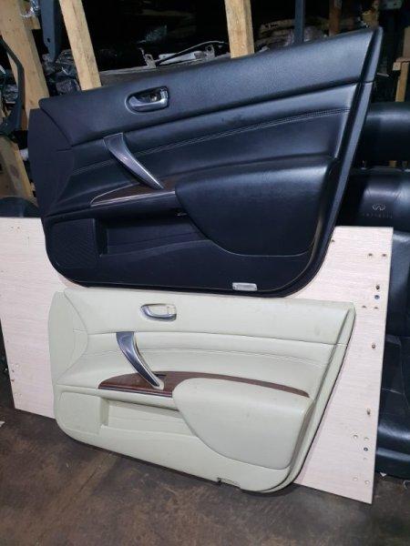 Обшивка двери Nissan Teana J32 2.5 182 Л.С 2013 передняя правая (б/у)