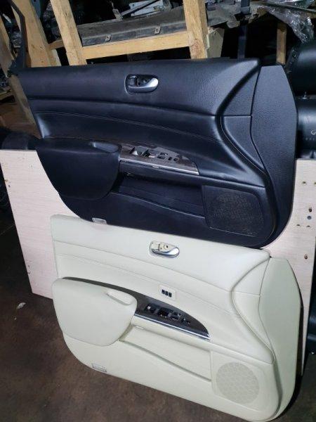 Обшивка двери Nissan Teana J32 2.5 182 Л.С 2013 передняя левая (б/у)