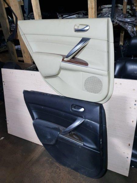 Обшивка двери Nissan Teana J32 2.5 182 Л.С 2013 задняя левая (б/у)