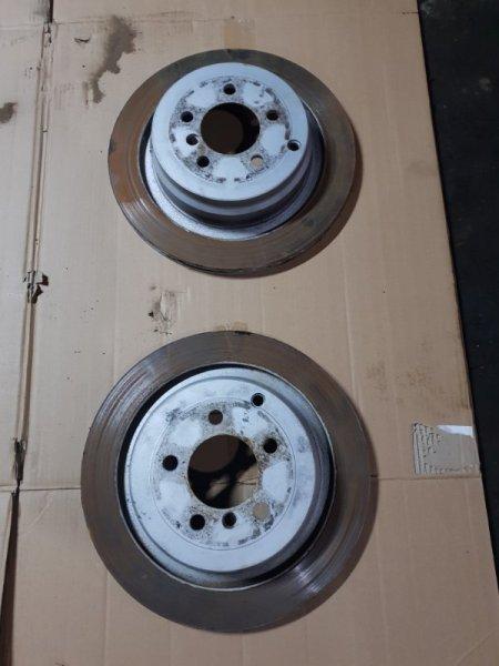 Диск тормозной Land Rover Range Rover 3 Рестайлинг Supercharged L322 4.2 2005 задний (б/у)
