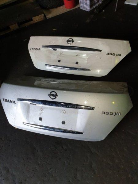 Крышка багажника Nissan Teana J31 2.3 2007 задняя (б/у)