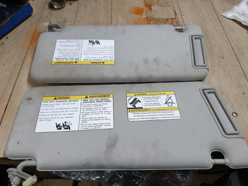 Козырек солнцезащитный Infiniti Qx56 Z62 5.6 405 Л.С 2011 передний правый (б/у)