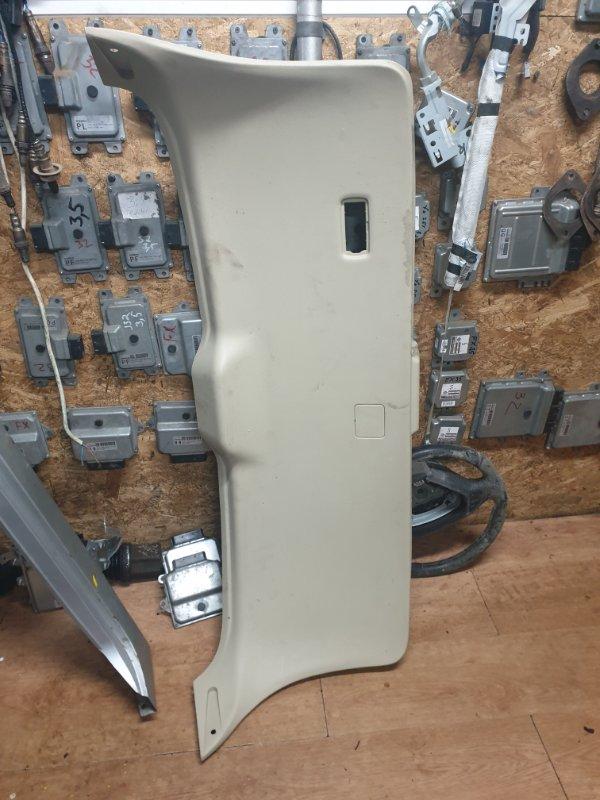 Обшивка крышки багажника Infiniti Fx S51 3.7 333 Л.С 2012 задняя (б/у)