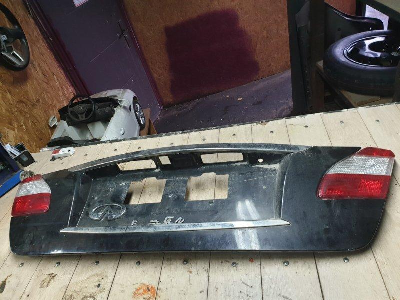 Крепление крышки багажника Infiniti M Y51 3.7 2012 (б/у)
