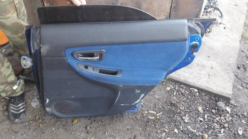 Дверь Subaru Impreza GD задняя правая (б/у)