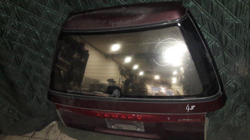 Дверь 5я Subaru Legacy BF5 EJ20G 1991 (б/у)