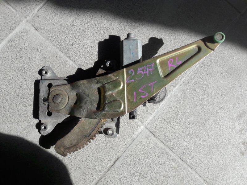 Стеклоподъемник Toyota Ist JCE10 1NZ 2003 задний левый (б/у)