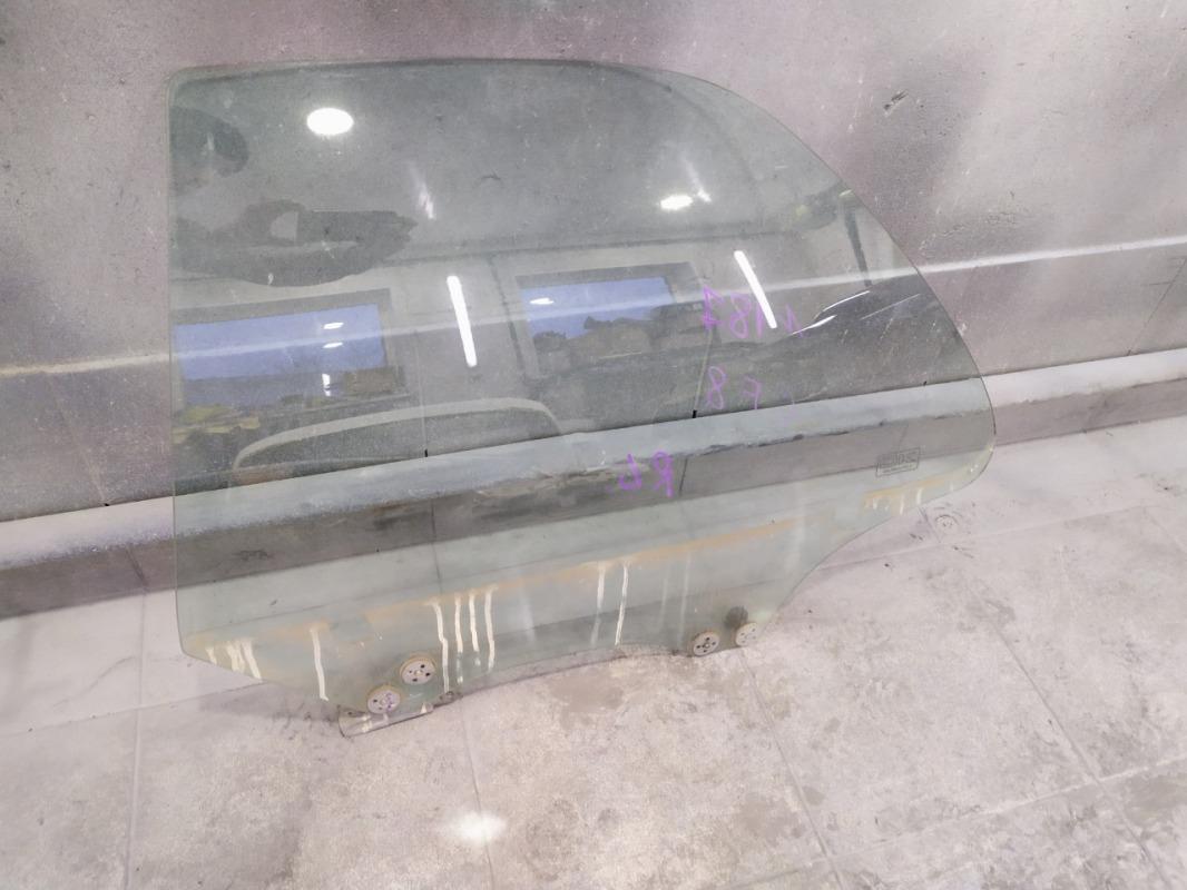 Стекло двери Subaru Impreza GF8 EJ204 1999 заднее левое (б/у)