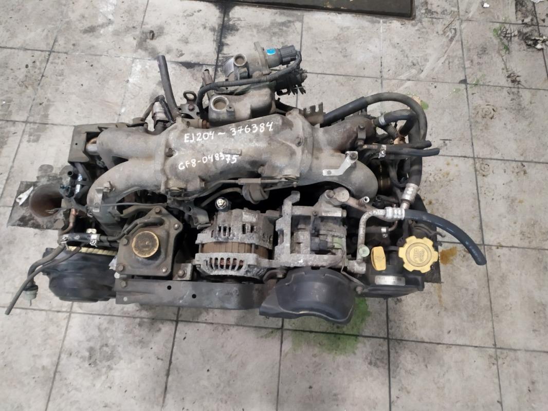 Двигатель Subaru Impreza GF8 EJ204 1999 (б/у)