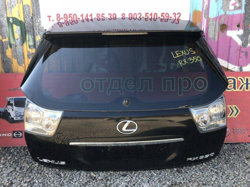 Дверь Lexus Rx350 GSU35 2AZFE 2007 задняя (б/у)