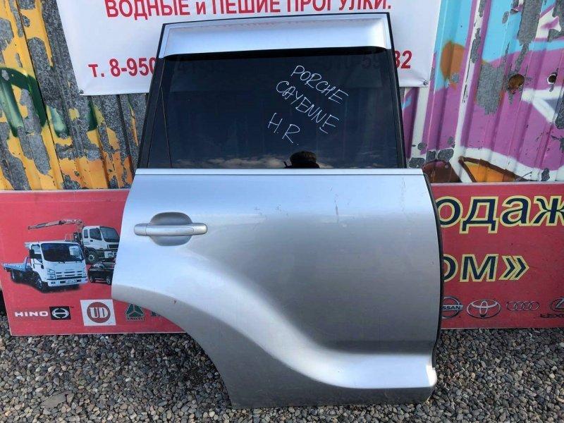 Дверь Porsche Cayenne 957 2008 задняя правая (б/у)