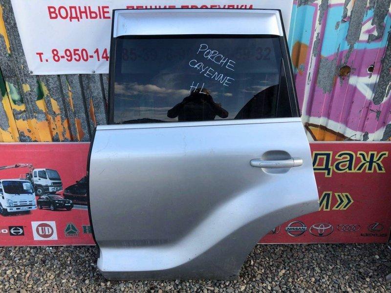 Дверь Porsche Cayenne 957 2008 задняя левая (б/у)