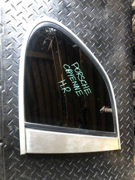 Стекло собачника Porsche Cayenne правое (б/у)