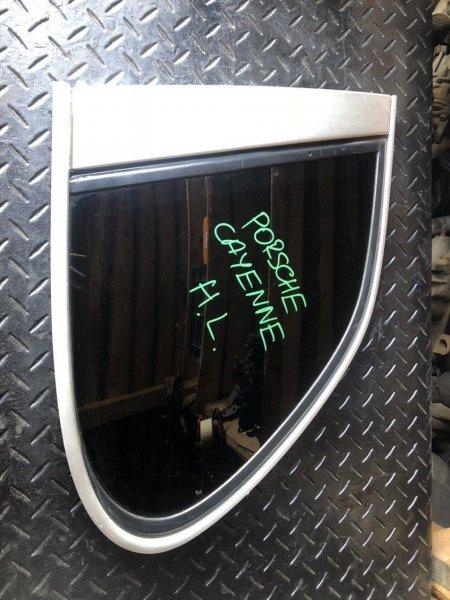 Стекло собачника Porsche Cayenne левое (б/у)