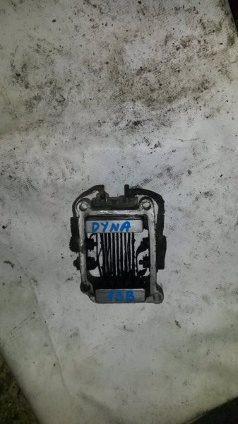Свеча накала (спираль накала) Toyota Dyna 13B (б/у)