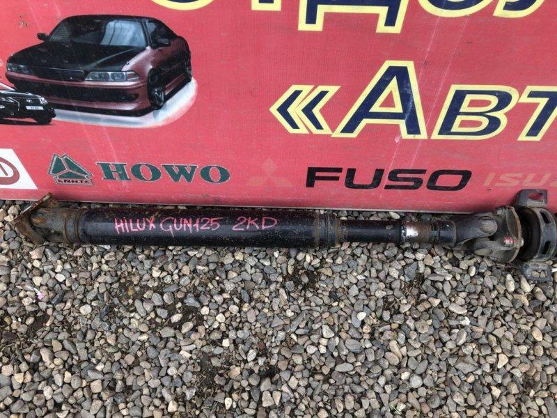 Карданный вал Toyota Hilux GUN125R 2KD задний (б/у)
