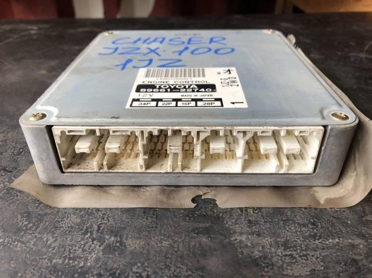 Блок управления двигателем Toyota Chaser JZX100 1JZGE (б/у)