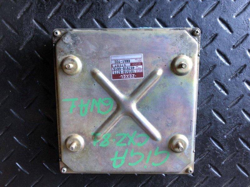 Блок управления двигателем Isuzu 6WA1 (б/у)