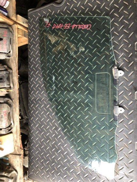 Стекло двери Toyota Corolla AE100 переднее левое (б/у)