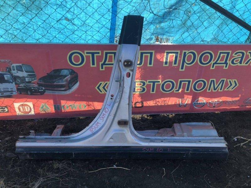Порог Toyota Ipsum SXM10 левый (б/у)