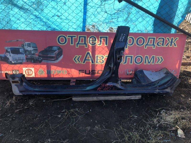 Порог Toyota Corolla Spacio левый (б/у)