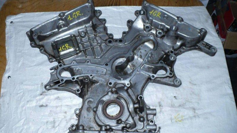 Лобовина двигателя Toyota 2GR (б/у)