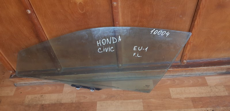 Стекло двери Honda Civic EU1 D15B2 переднее левое (б/у)