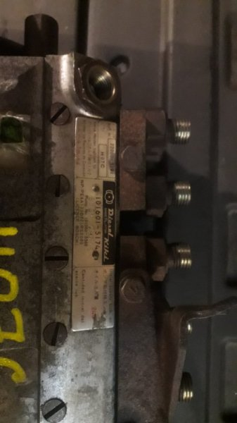 Топливный насос высокого давления Hino Ranger H07C (б/у)