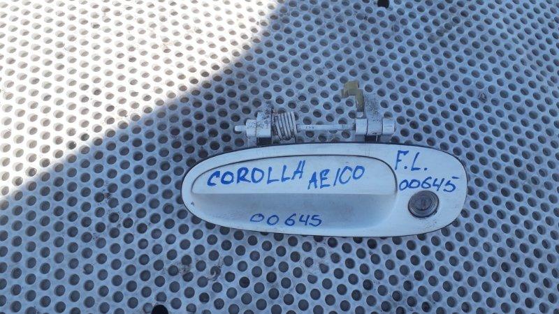 Ручка двери Toyota Corolla АЕ100 передняя левая (б/у)