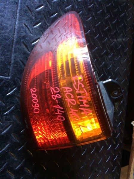 Стоп сигнал Toyota Estima ACR40 задний левый (б/у)