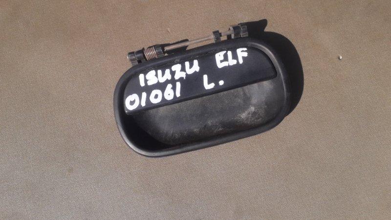 Ручка двери Isuzu Elf NKR66 передняя левая (б/у)