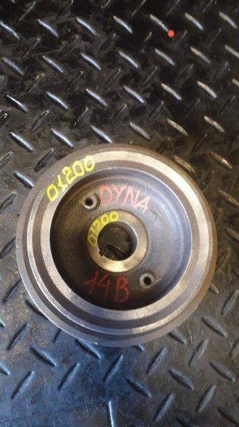 Шкив коленвала Toyota Dyna 14B (б/у)