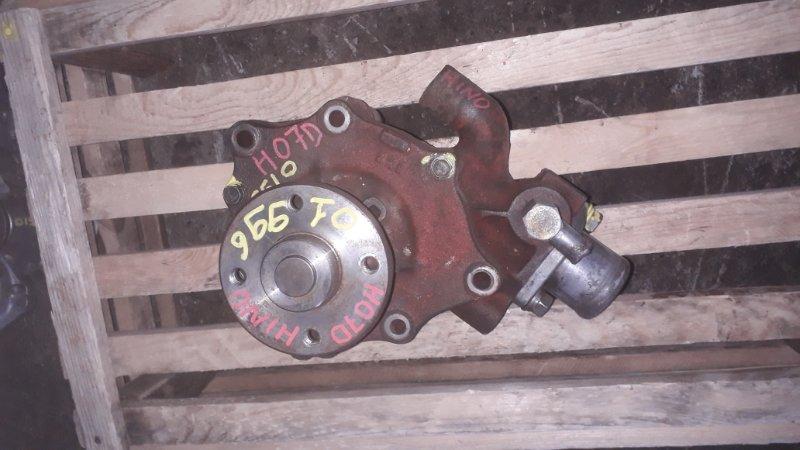 Помпа водяная Toyota H07D (б/у)