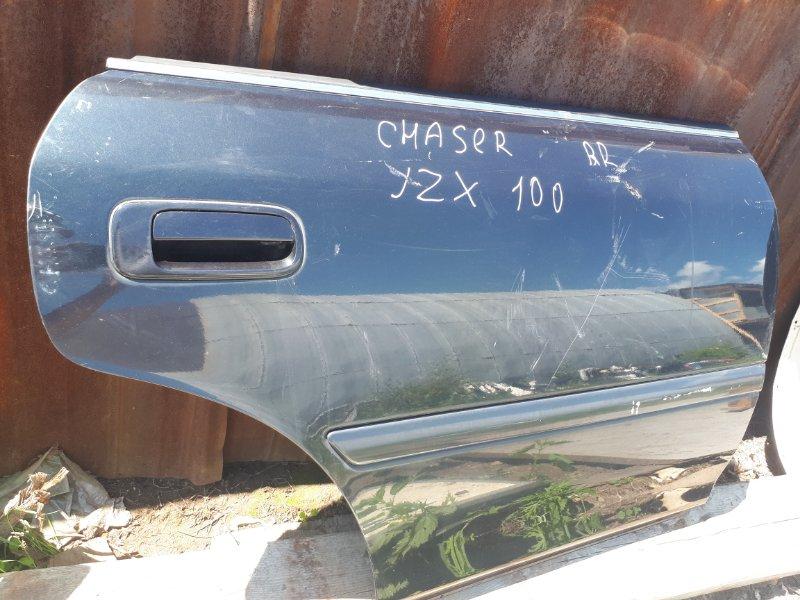 Дверь Toyota Chaser JZX100 1999 задняя правая (б/у)