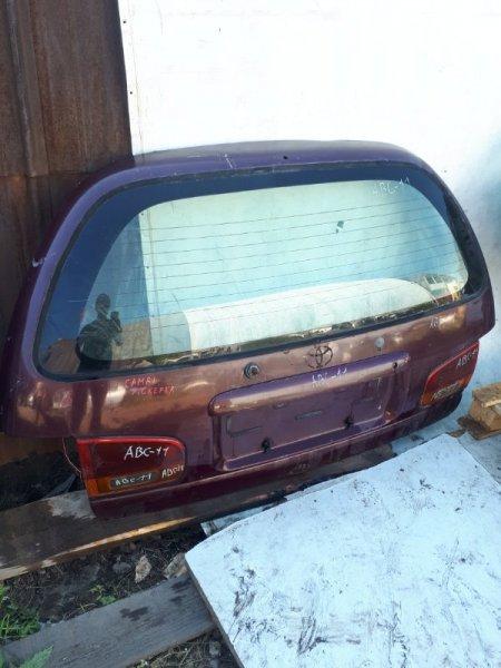 Дверь багажника Toyota Scepter SXV11 задняя (б/у)