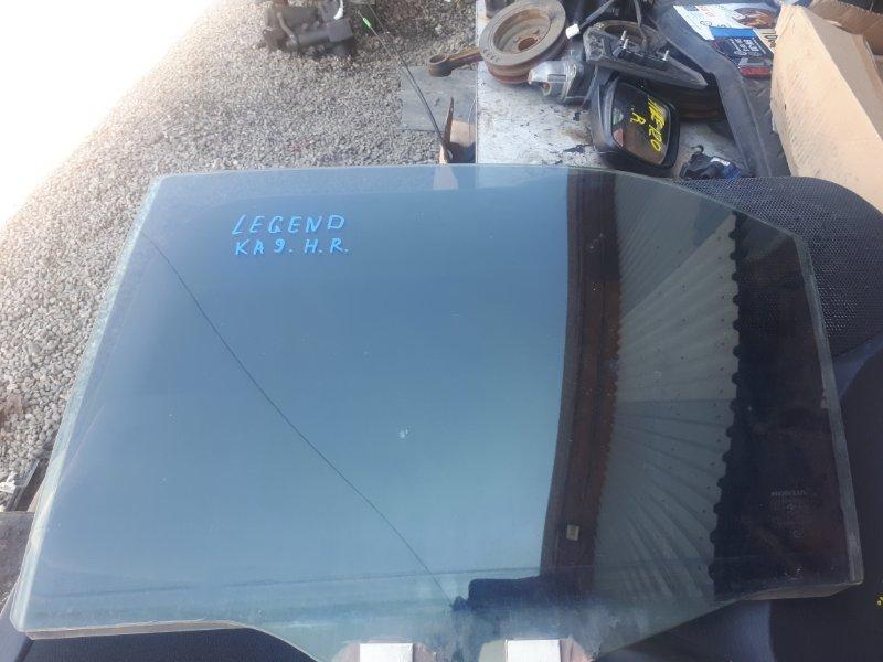 Стекло двери Honda Legend KA9 заднее левое (б/у)