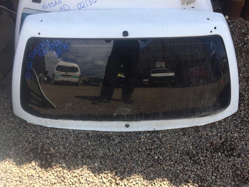 Стекло пятой двери Subaru Forester SF5 (б/у)