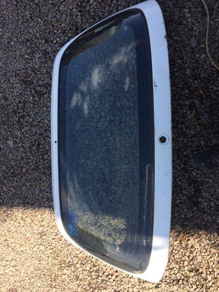 Стекло пятой двери Toyota Caldina CT196 заднее (б/у)