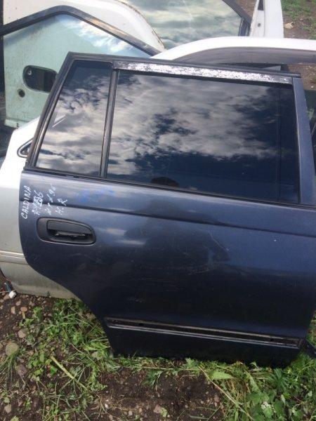 Стекло пятой двери Toyota Caldina CT196V заднее правое (б/у)