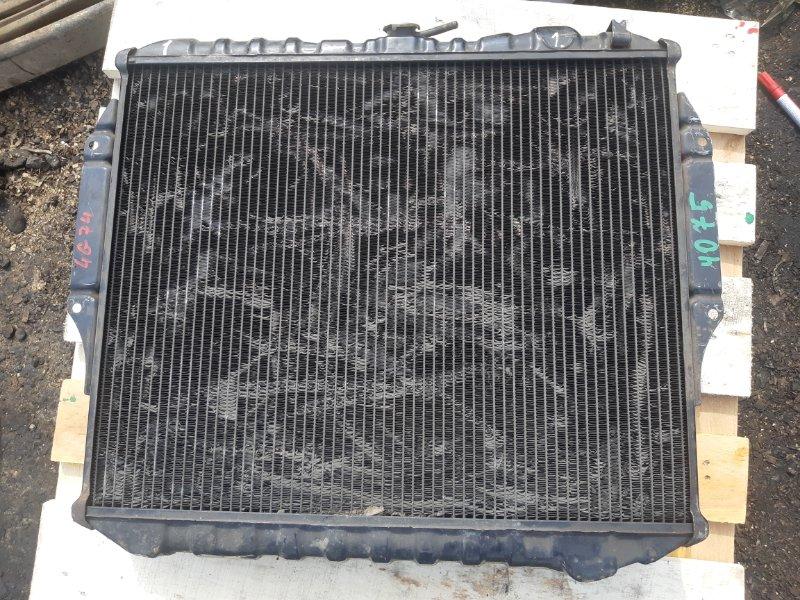 Радиатор Mitsubishi Pajero 4G74 (б/у)