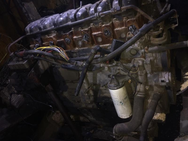 Двигатель Scania (б/у)