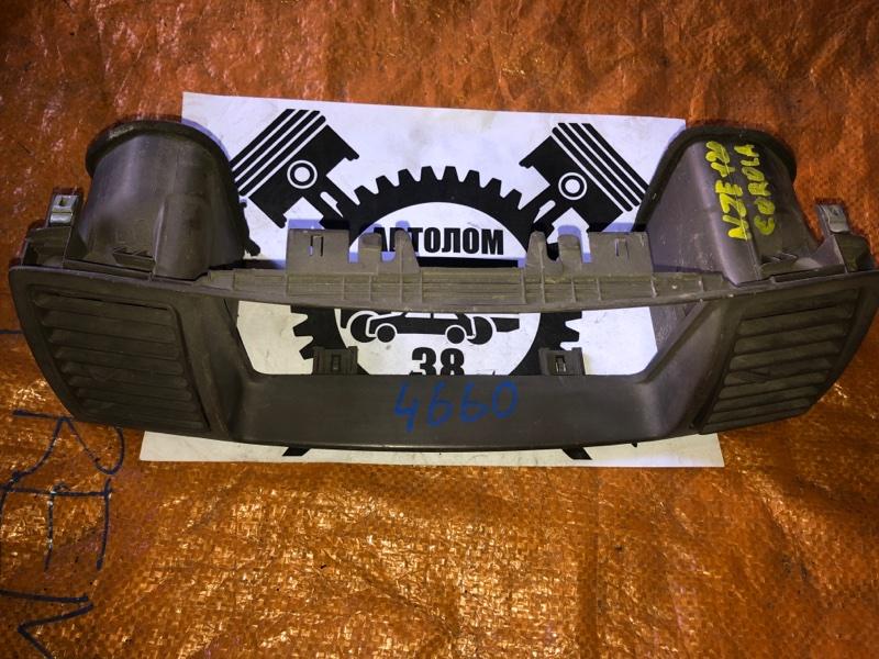 Рамка магнитолы Toyota Corolla NZE120 (б/у)